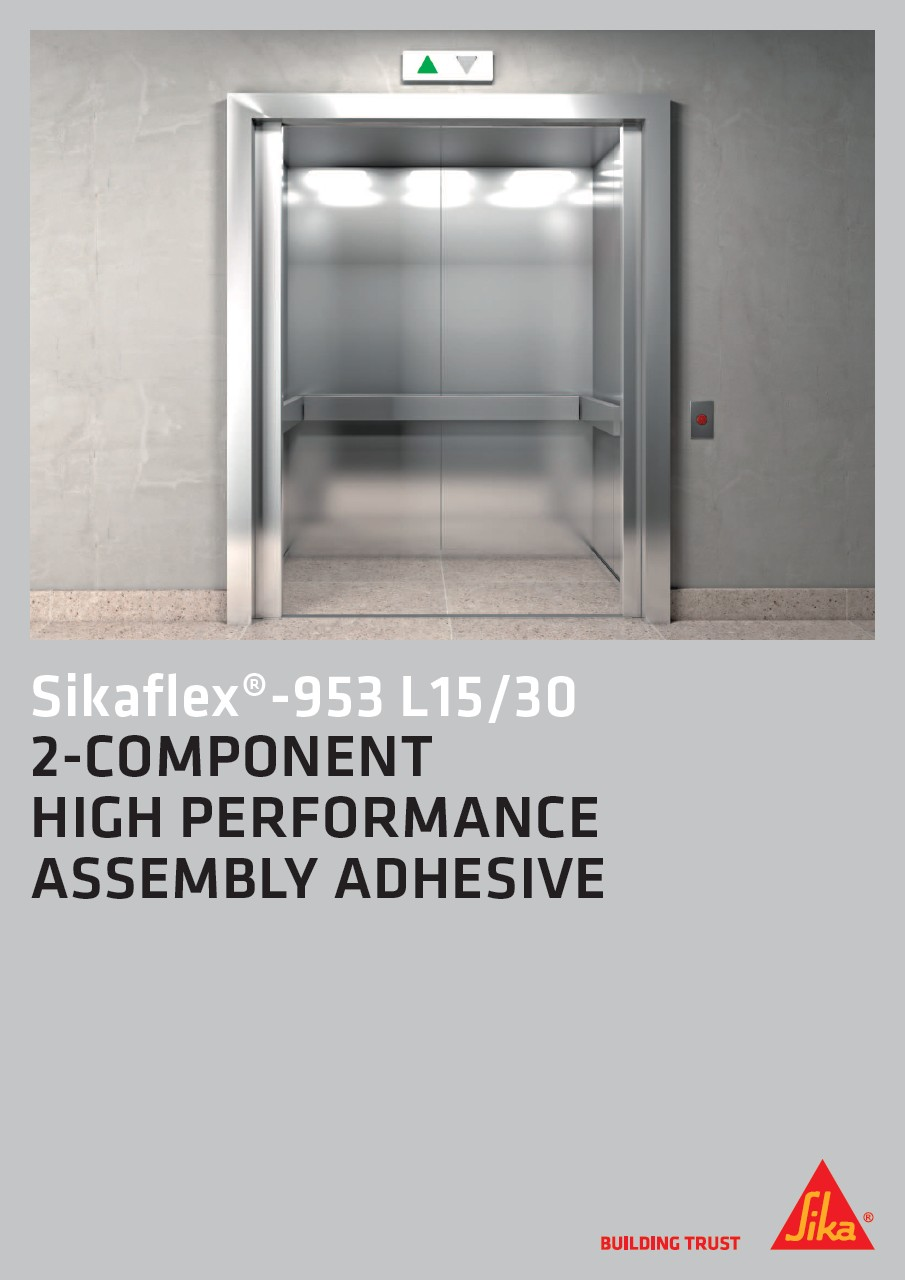 Sikaflex®-953 L15/30 - 2-Component High Performance Assembly Adhesive