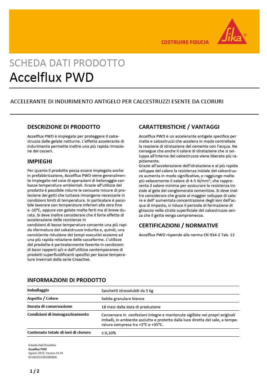 Accelflux PWD