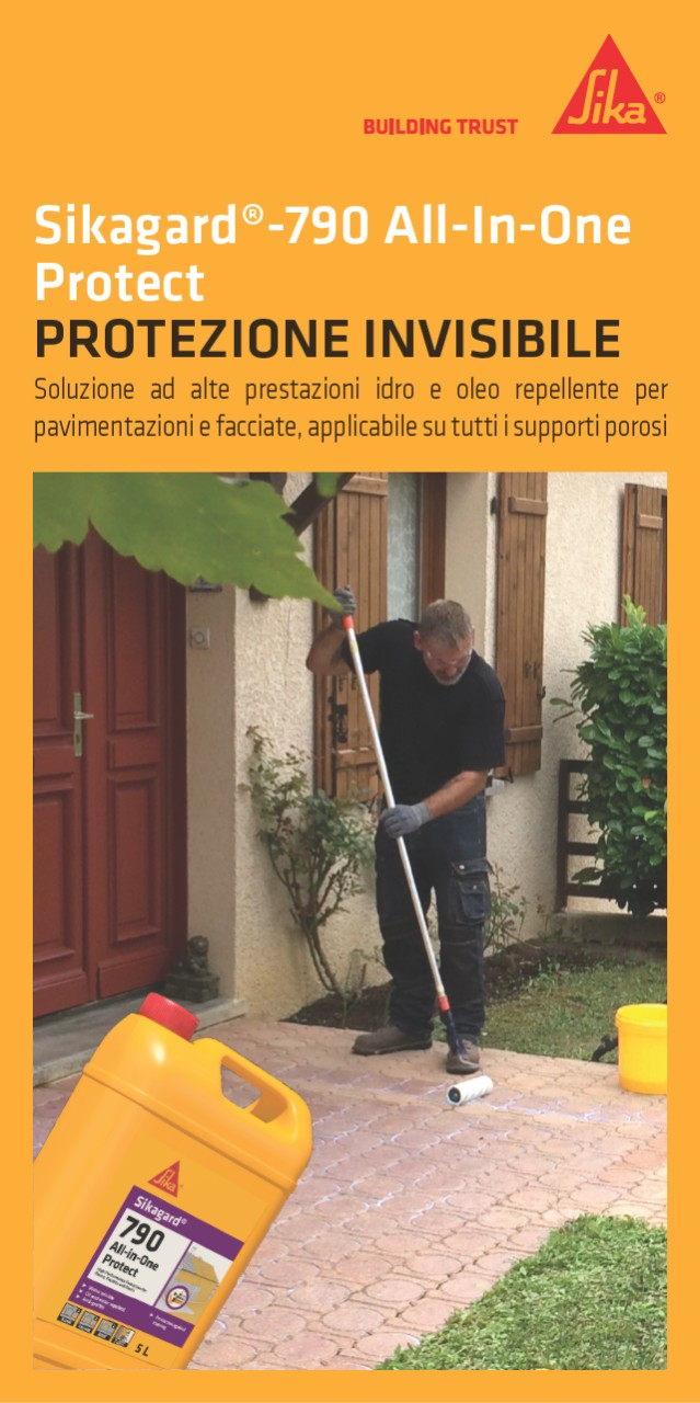 Leaflet - Sikagard®-790 All-In-One Protect, Protezione Invisibile
